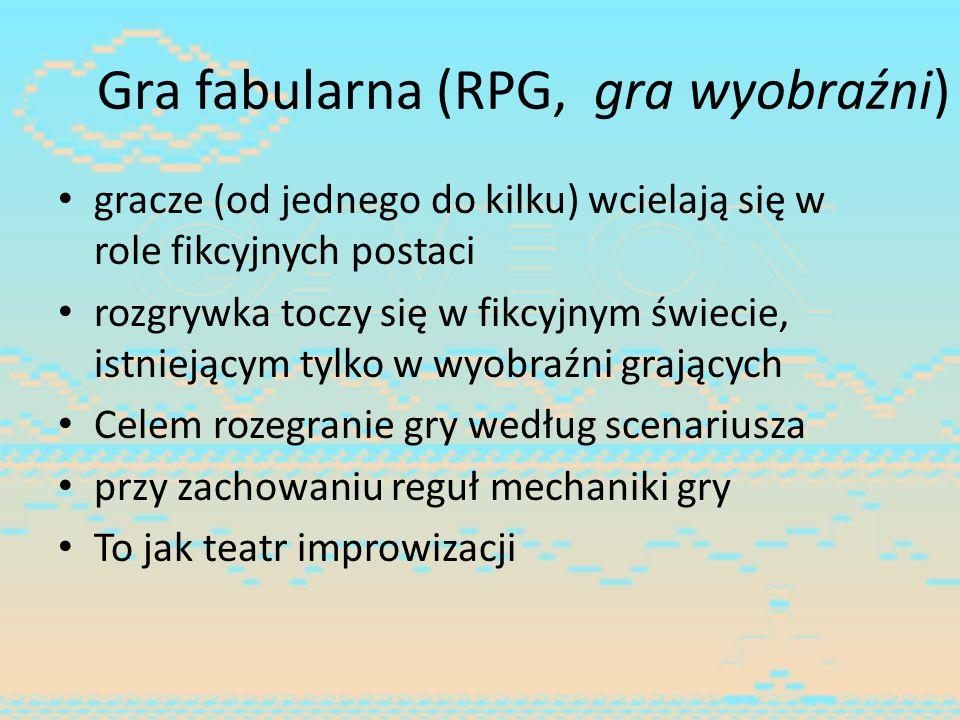 Gra fabularna (RPG, gra wyobraźni)