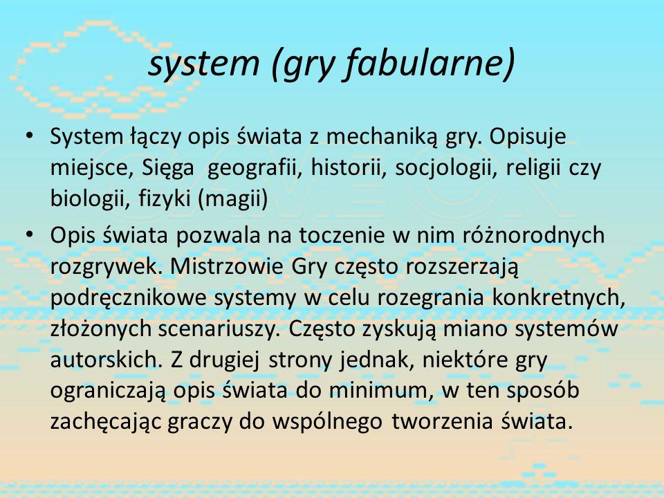 system (gry fabularne)