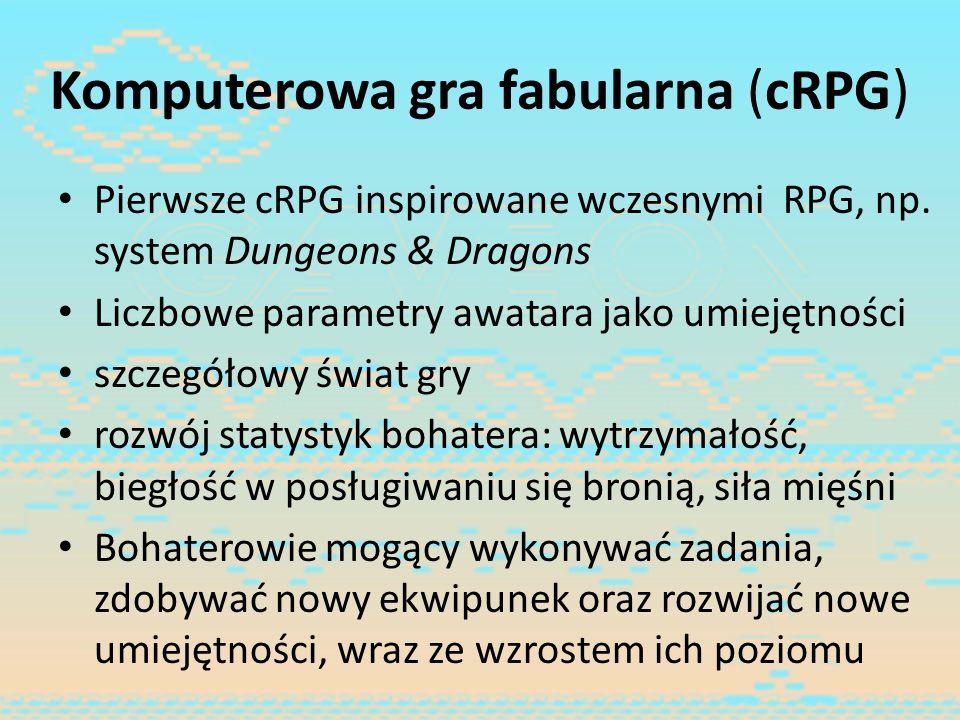 Komputerowa gra fabularna (cRPG)