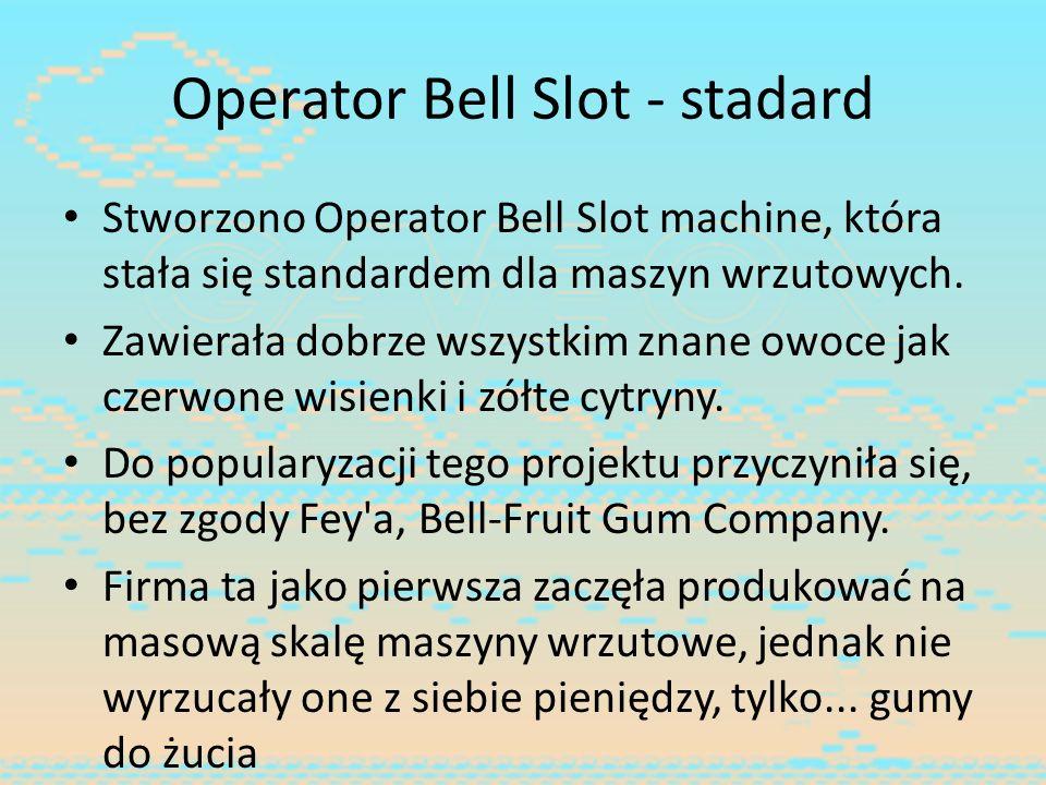 Operator Bell Slot - stadard