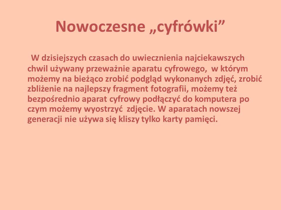 """Nowoczesne """"cyfrówki"""