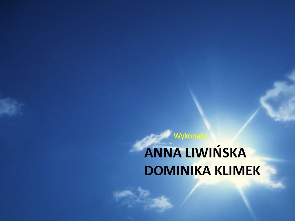 Anna Liwińska Dominika Klimek