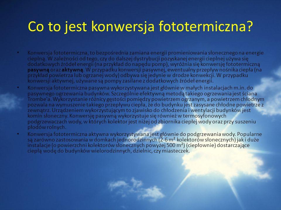 Co to jest konwersja fototermiczna