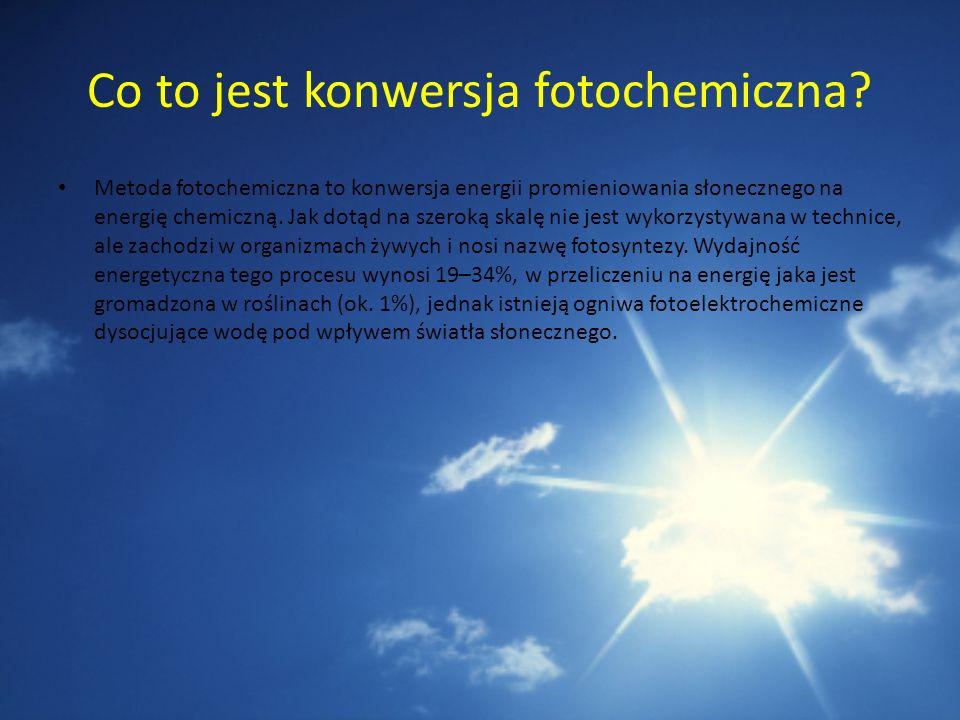 Co to jest konwersja fotochemiczna
