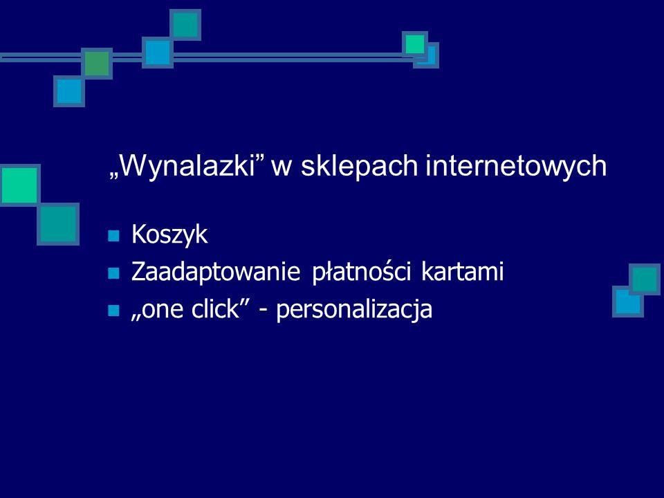 """""""Wynalazki w sklepach internetowych"""