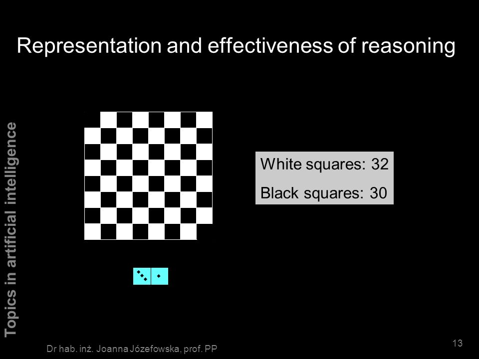 Representation and effectiveness of reasoning