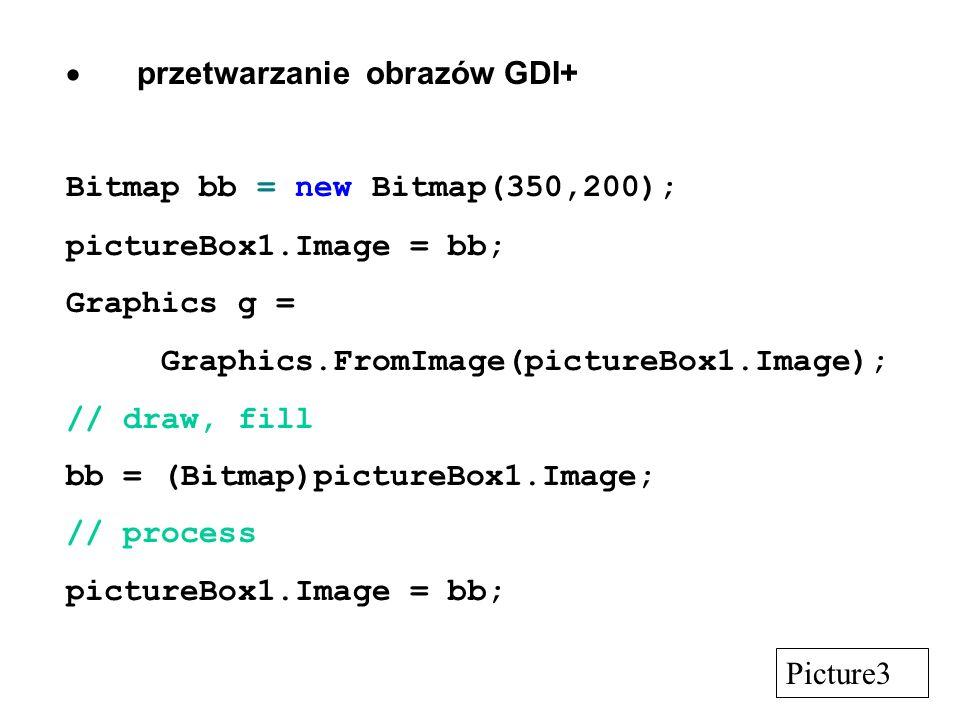  przetwarzanie obrazów GDI+
