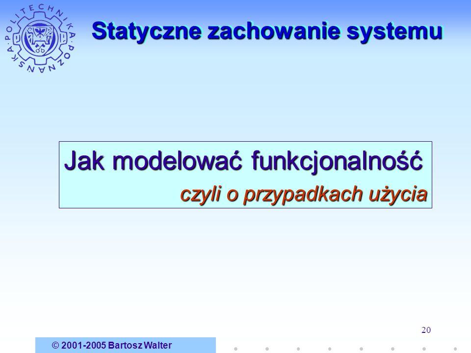 Statyczne zachowanie systemu