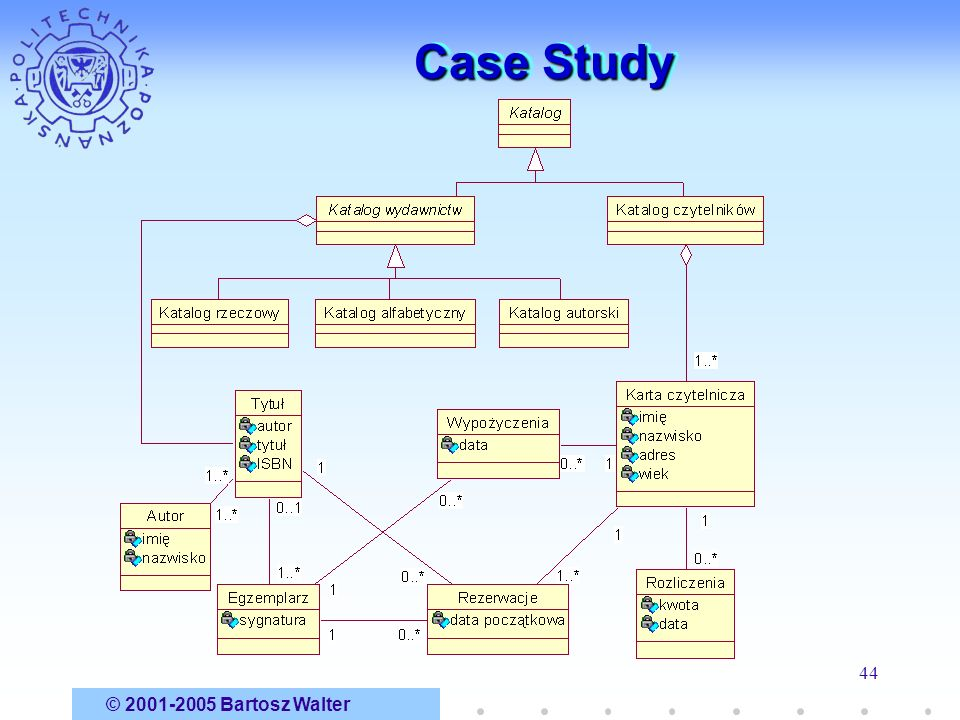 Case Study © 2001-2005 Bartosz Walter