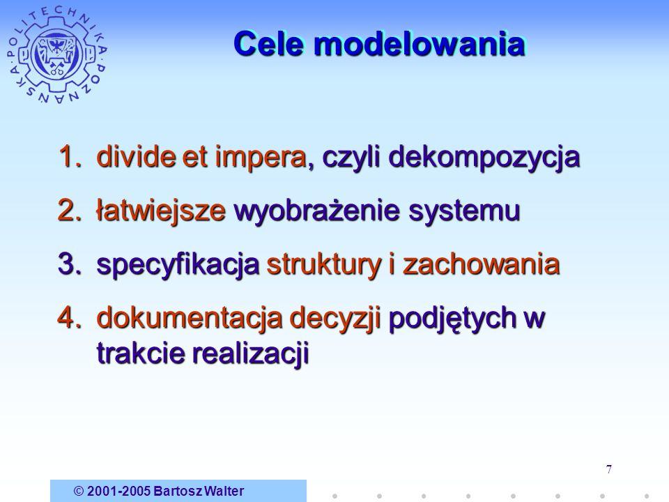 Cele modelowania divide et impera, czyli dekompozycja