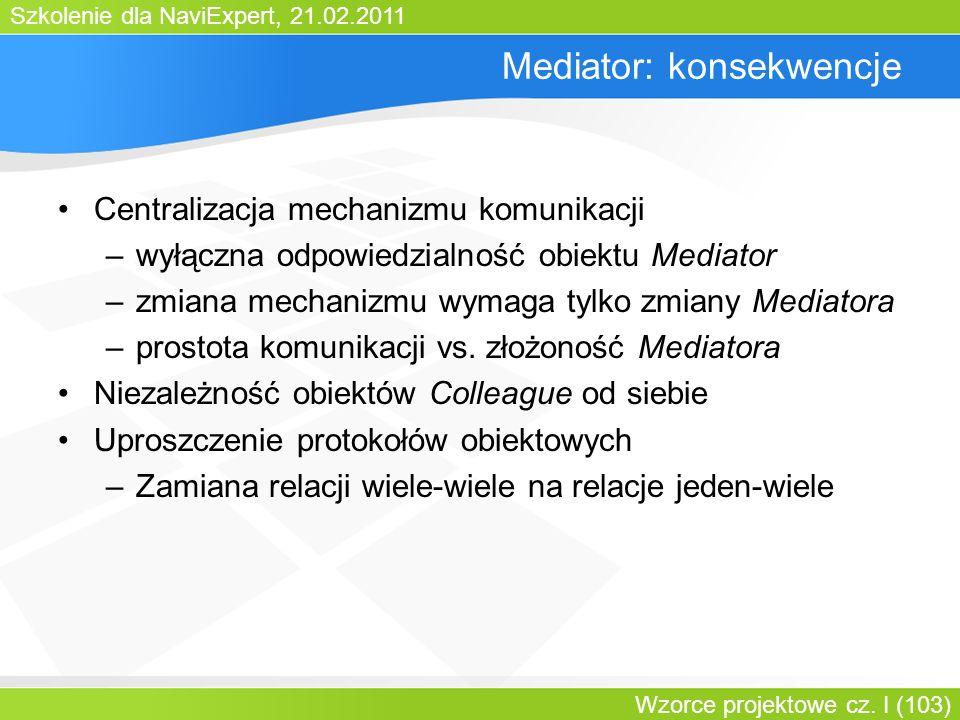 Mediator: konsekwencje
