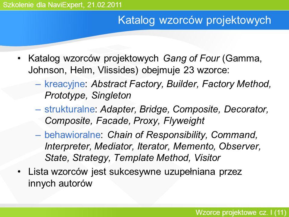 Katalog wzorców projektowych