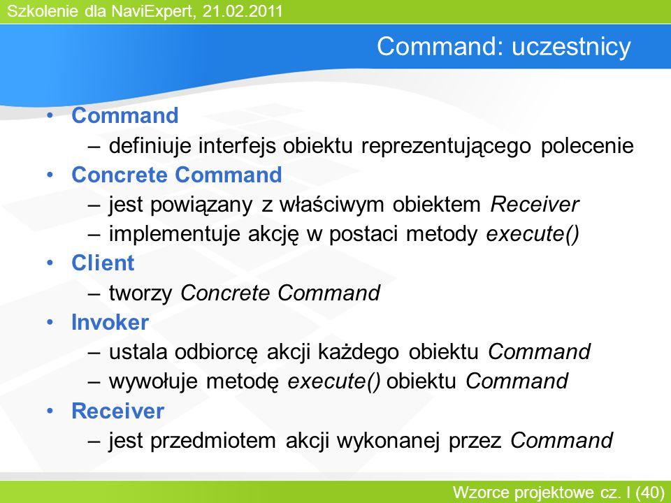 Command: uczestnicy Command