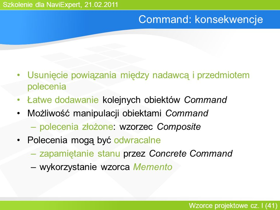 Command: konsekwencje