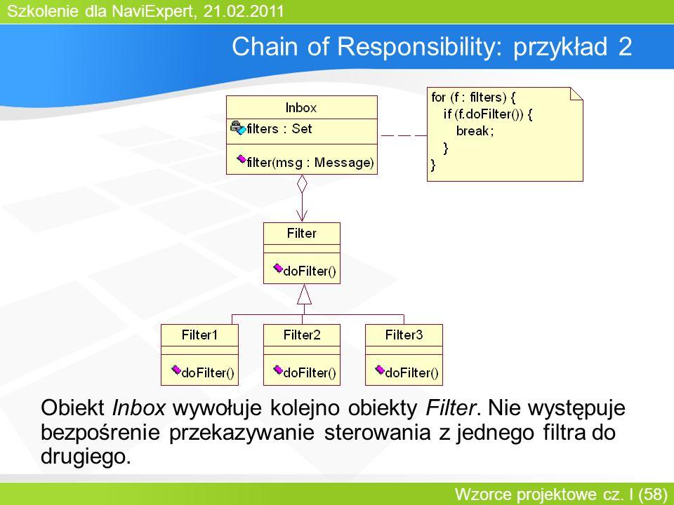 Chain of Responsibility: przykład 2