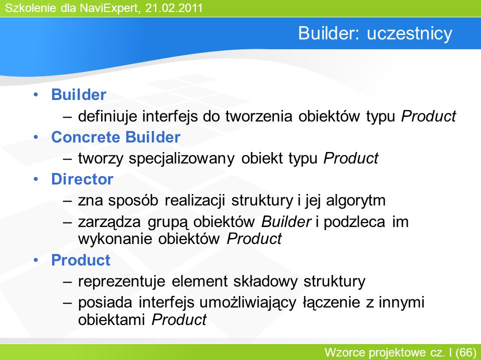 Builder: uczestnicy Builder