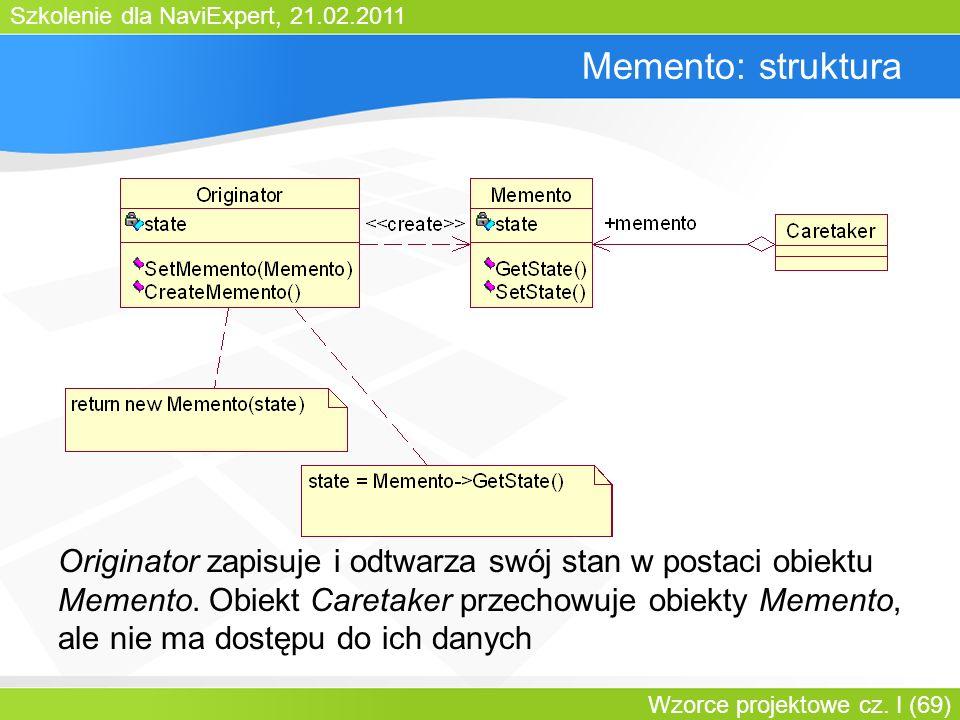 Bartosz WalterMemento: struktura.