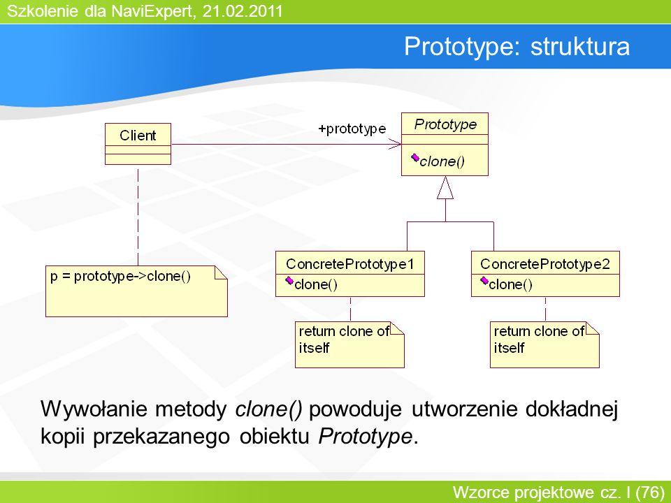 Bartosz WalterPrototype: struktura.