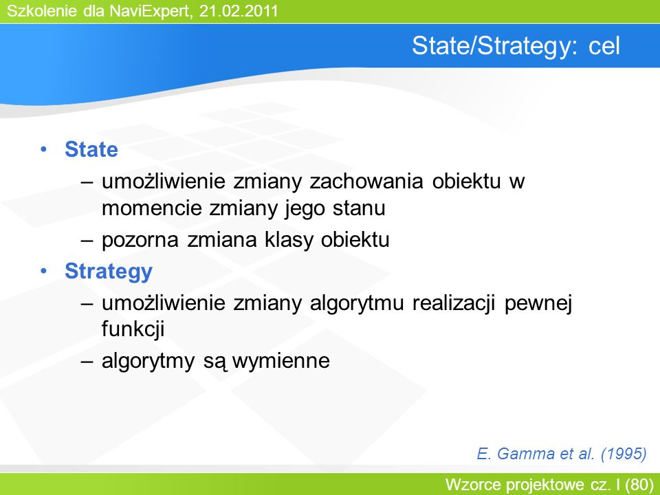 State/Strategy: cel State