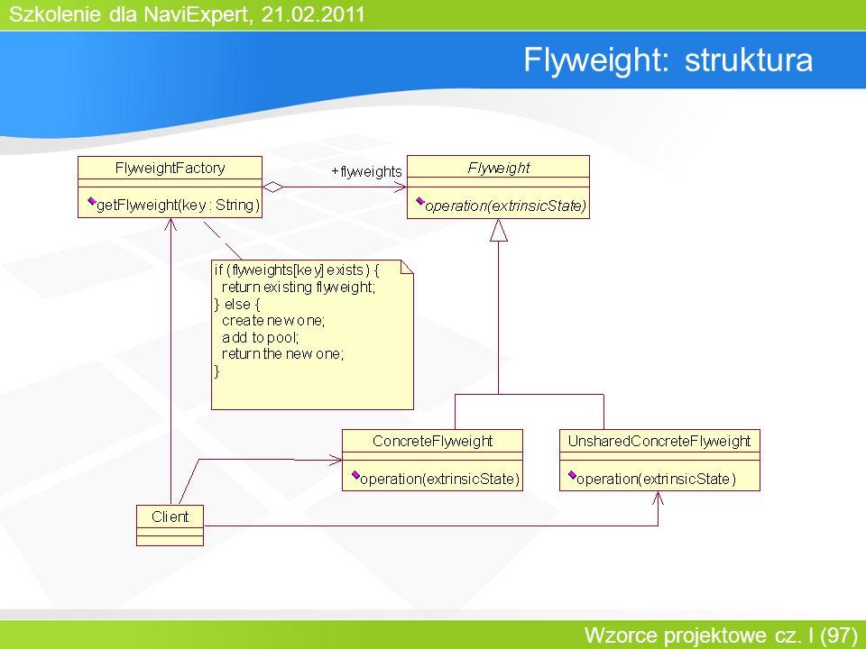 Flyweight: struktura Bartosz Walter Wzorce projektowe cz. III