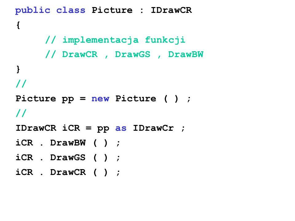 public class Picture : IDrawCR