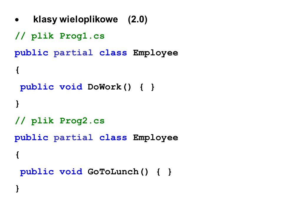 · klasy wieloplikowe (2.0)