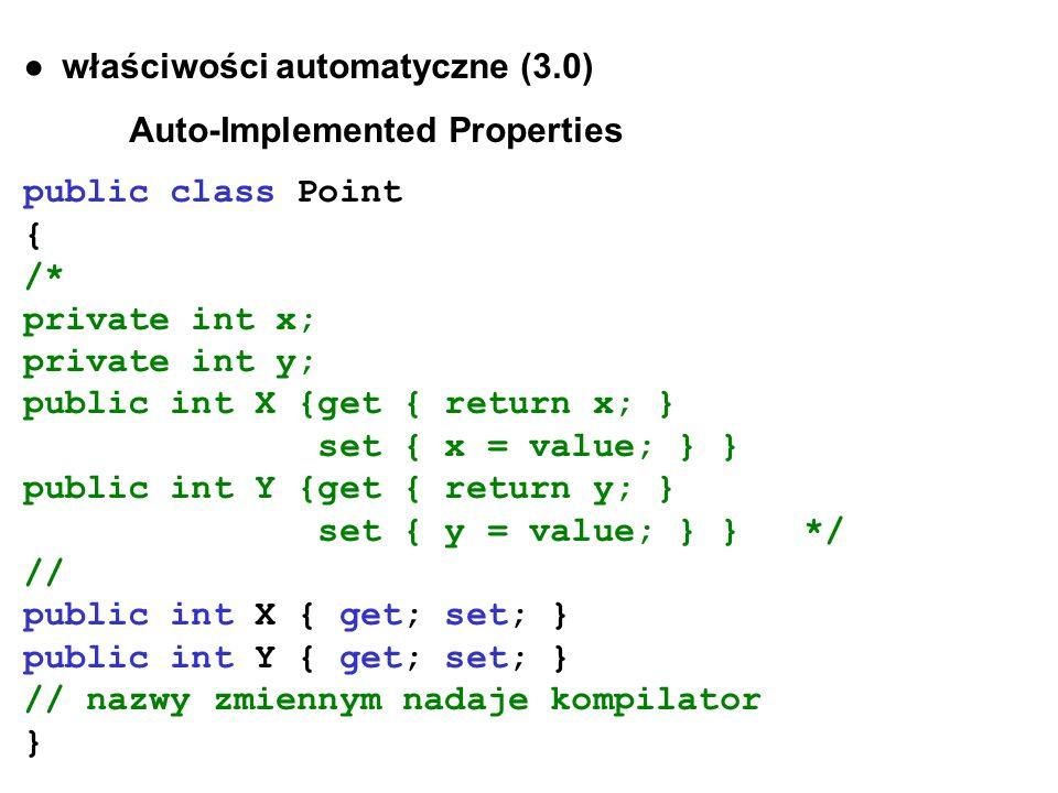 ● właściwości automatyczne (3.0)