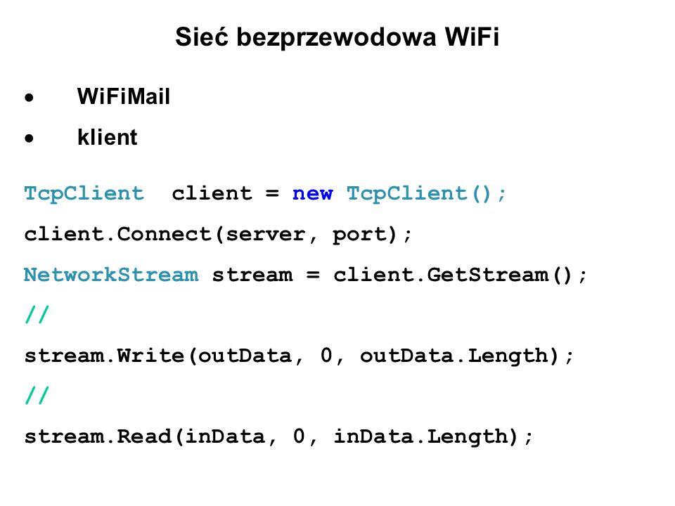 Sieć bezprzewodowa WiFi