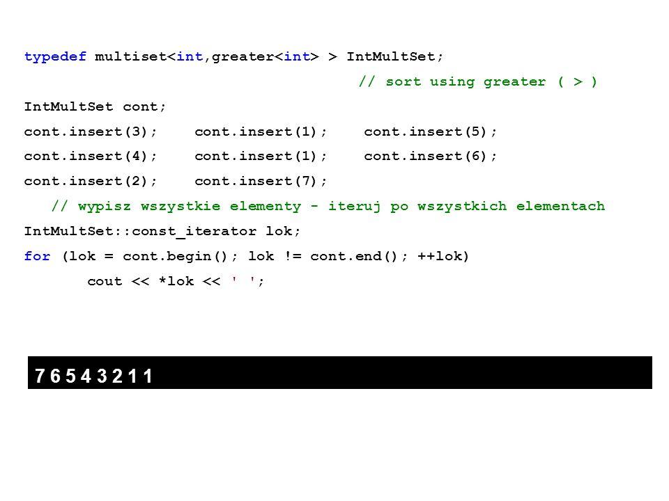 typedef multiset<int,greater<int> > IntMultSet;