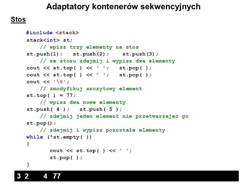 Adaptatory kontenerów sekwencyjnych
