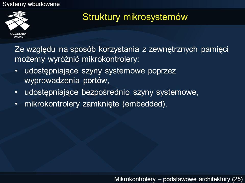 Struktury mikrosystemów