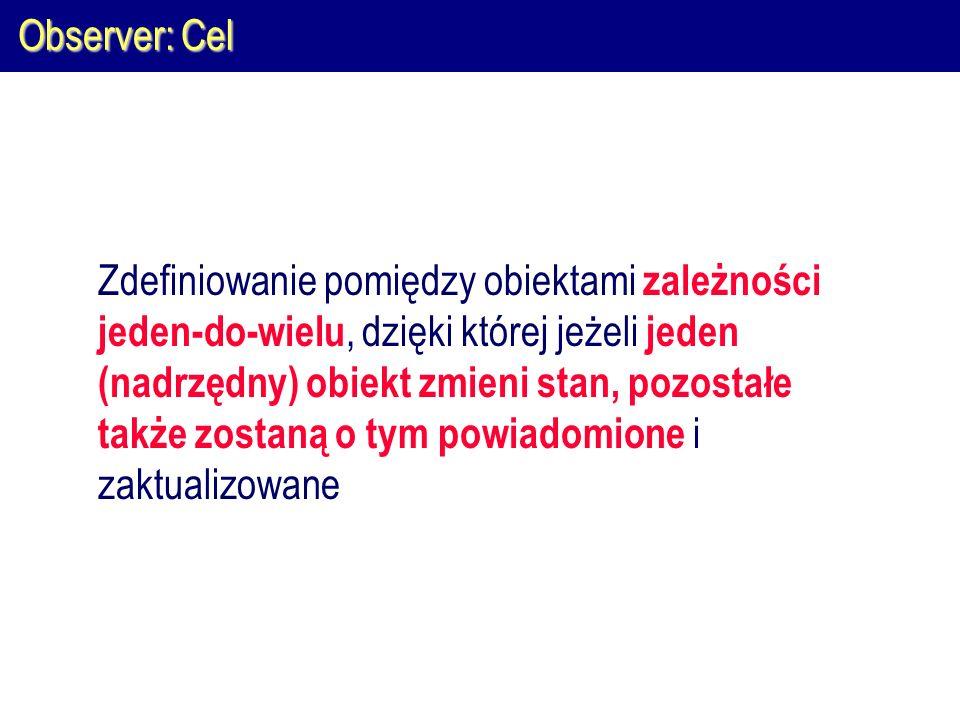 Observer: Cel