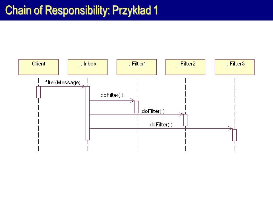 Chain of Responsibility: Przykład 1
