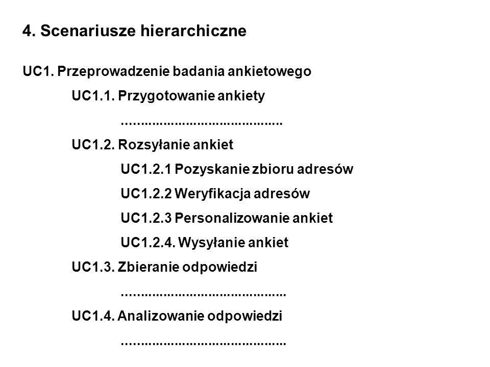 4. Scenariusze hierarchiczne