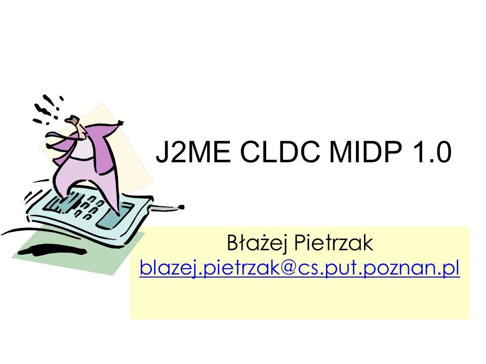 Błażej Pietrzak blazej.pietrzak@cs.put.poznan.pl