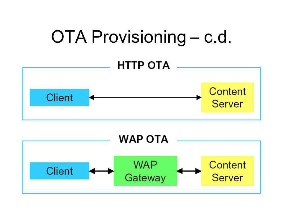 OTA Provisioning – c.d.