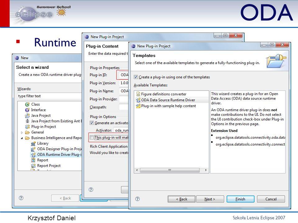 ODA Runtime