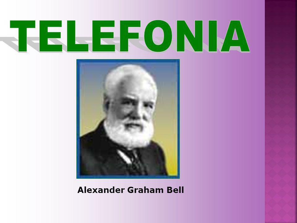 TELEFONIA Alexander Graham Bell