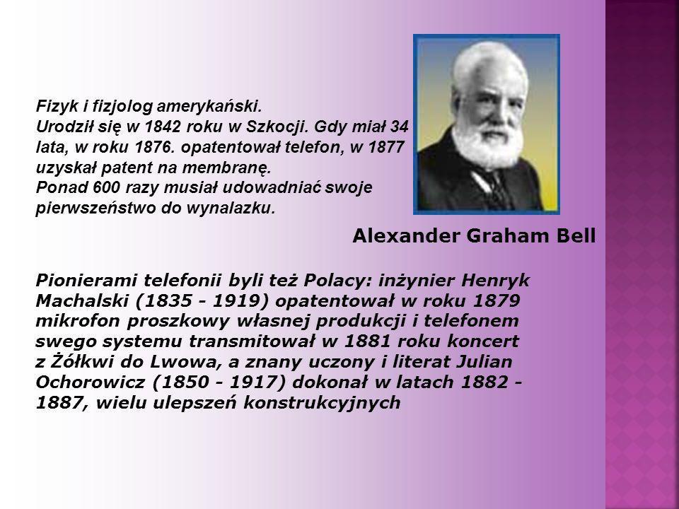 Fizyk i fizjolog amerykański. Urodził się w 1842 roku w Szkocji