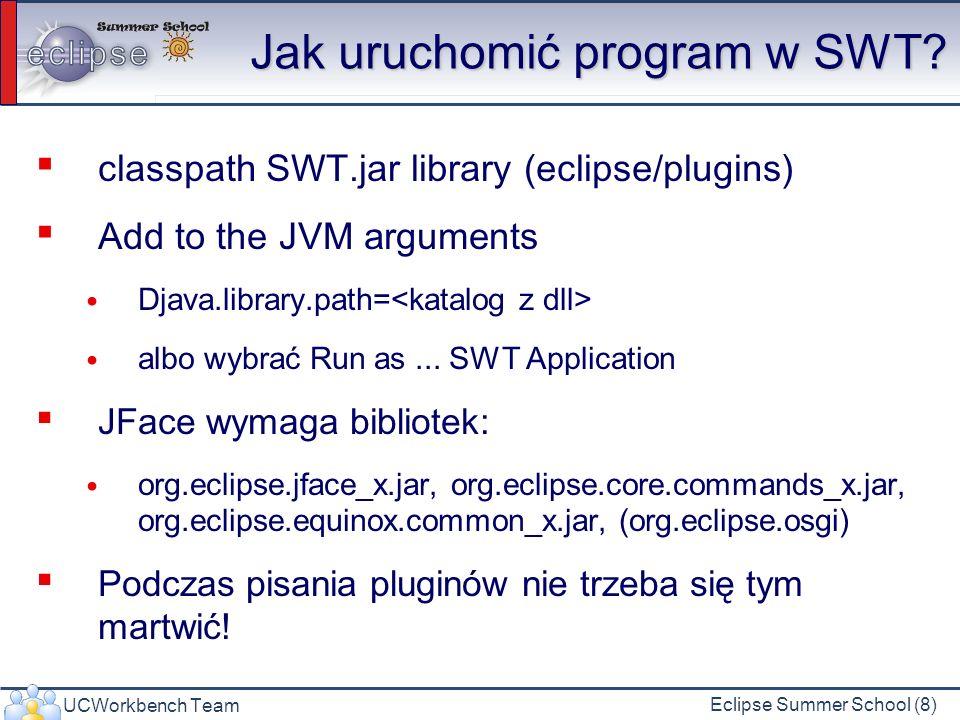 Jak uruchomić program w SWT