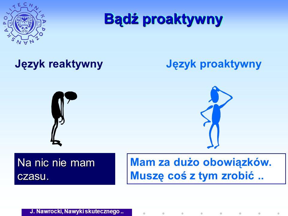 J. Nawrocki, Nawyki skutecznego ..