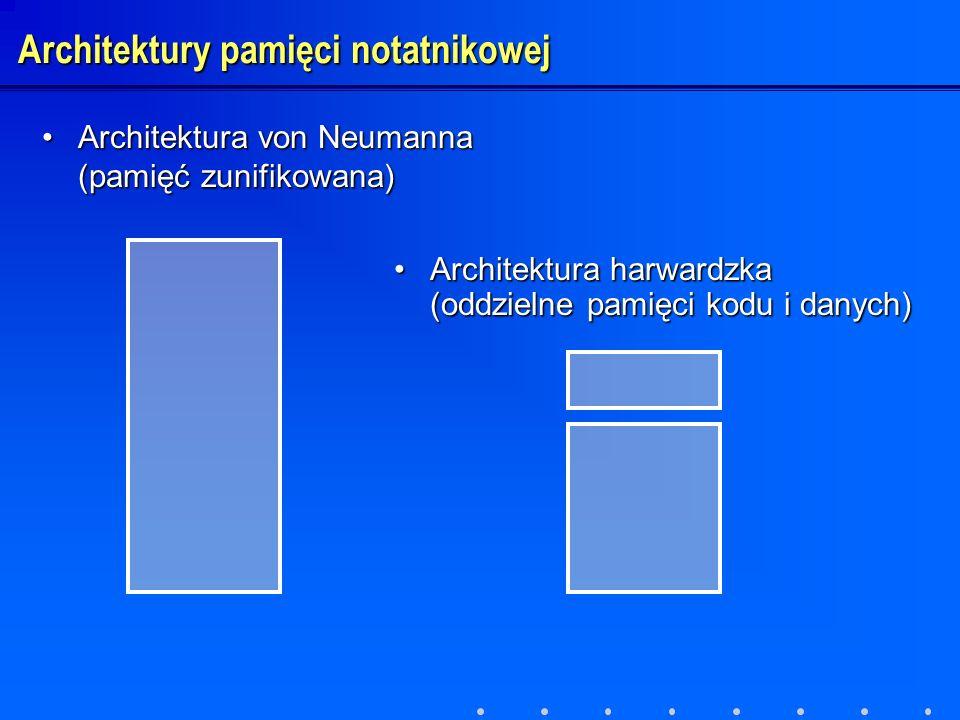 Architektury pamięci notatnikowej