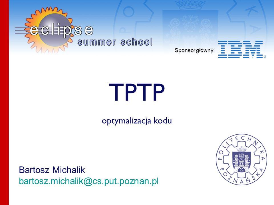 TPTP optymalizacja kodu