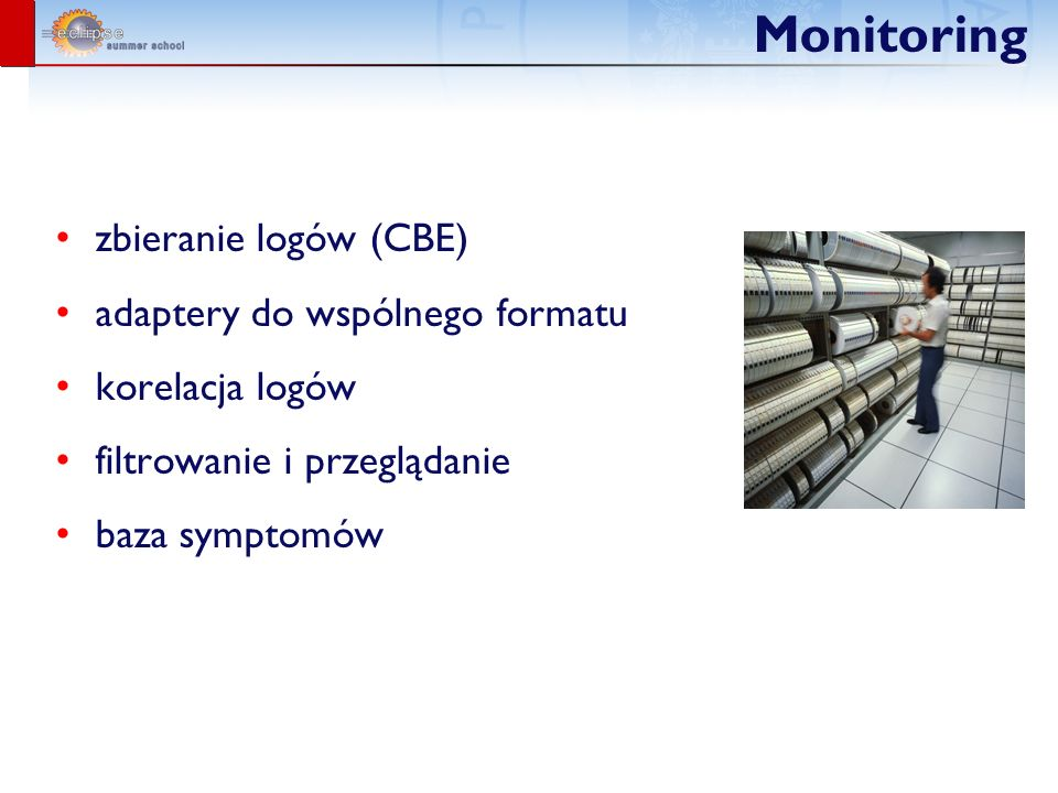 Monitoring zbieranie logów (CBE) adaptery do wspólnego formatu