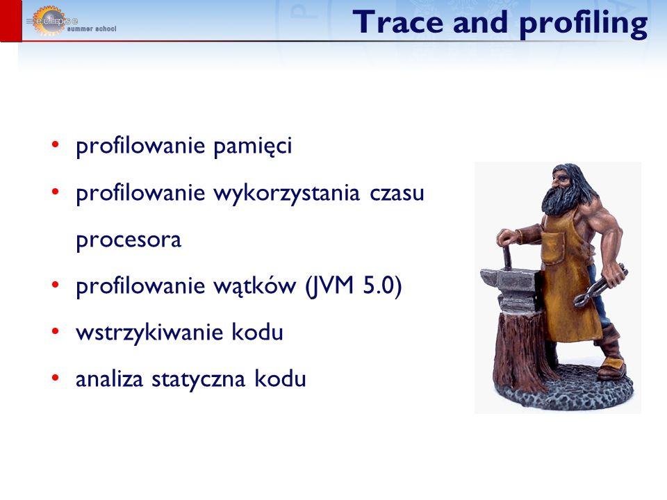 Trace and profiling profilowanie pamięci