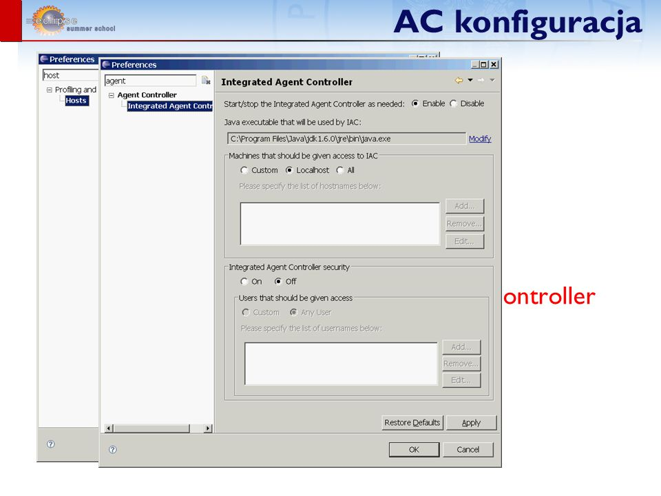 Agent Controller vs. Integrated Agent Controller