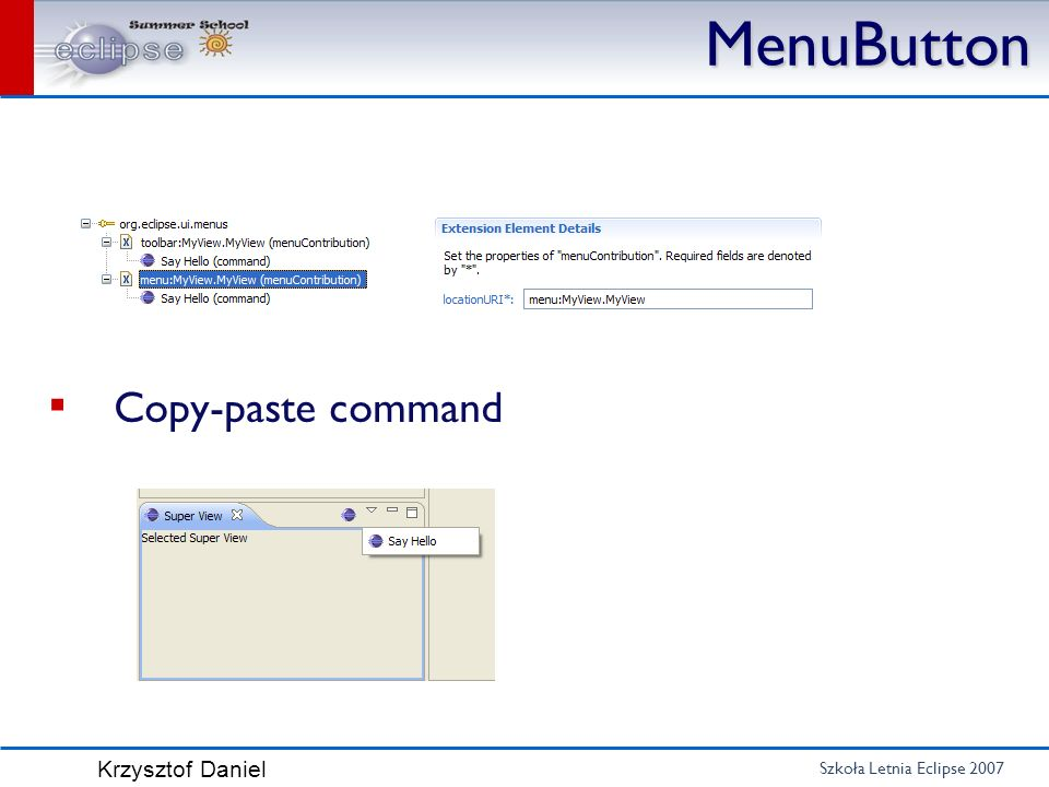 MenuButton Copy-paste command