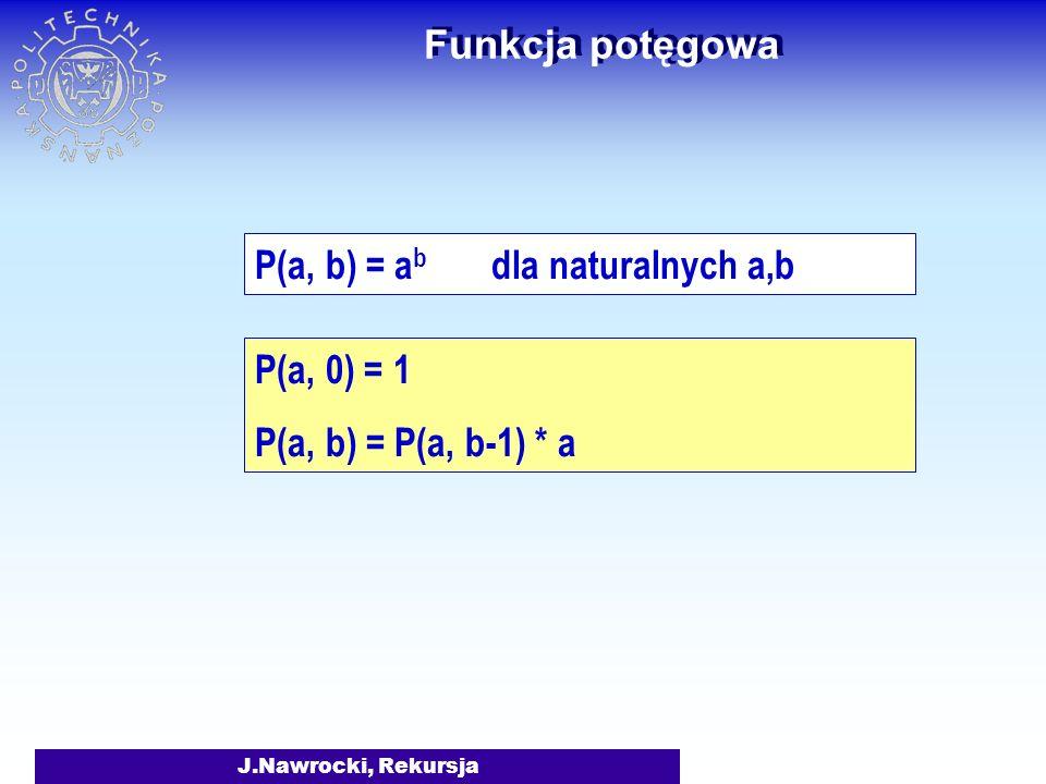 P(a, b) = ab dla naturalnych a,b