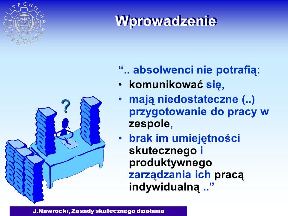 J.Nawrocki, Zasady skutecznego działania