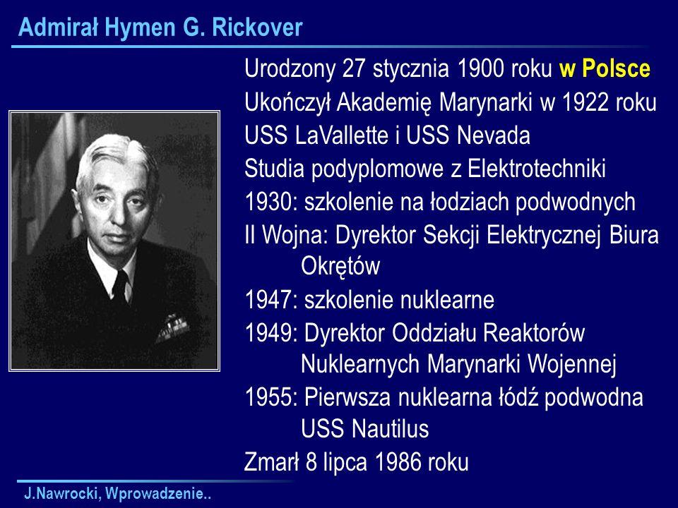 Admirał Hymen G. Rickover